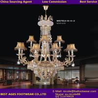 China 2015 new modern candle crystal chandelier on sale