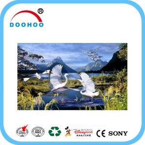 Quality Eco friendly PET lenticular 3d posters with Flip effect 100LPI 75LPI wholesale