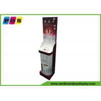 Quality Creative Design Cardboard Retail Display , Cosmetic Point Of Purchase Product Display Stands FL195 wholesale