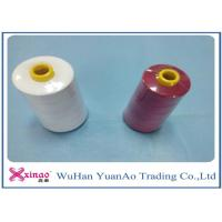 Quality 20/2/3/4 High Tenacity 100% Polyester Sewing Thread  White Red wholesale