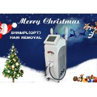 Quality Vertical OPT IPL SHR Laser Hair Removal Machine for Skin Rejuvenation Acne Clearance wholesale