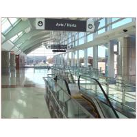China Airport Tempered Laminated Glass Walls And Stairs , Toughened Glass 10 mm on sale