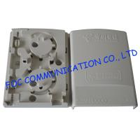 Buy cheap Flame Retardant Fiber Optic Termination Box 2 Ports Pigtail Loaded FTTH Avilable from wholesalers