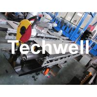 Quality Square / Round Mobile Downpipe Forming Machine / Cold Roll Forming Machine wholesale