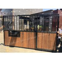 Quality Metal Horse Equipment Horse Stall Panels Equestrian House Stable Stall Doors wholesale