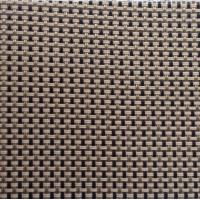 Quality waterproof outdoor fabric sunshade fabric in bule, white , yellow or other colors 2*1 woven wire mesh fabric wholesale