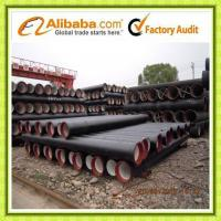 Quality ISO2531 ductile iron pipes class k9 wholesale