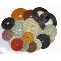 Quality 4 Inch 5 Inch Diamond Flexible Polishing Pad With Resin Bond Multi Function wholesale