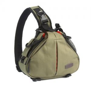 Quality Caden K2 Army Green Waterproof Fashion Casual DSLR Camera Bag Case Messenger Shoulder Bag wholesale