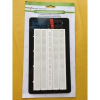 Quality Aluminum Backing Solderless Circuit Board , White Breadboard Circuits Projects wholesale