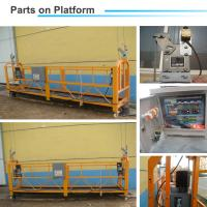 Cheap Building Construction Aluminum alloy 380V/50Hz 0.8Ton ZLP800 Suspended Working for sale