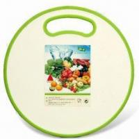 Quality Plastic Cutting Board, Made of Plastic and TPR, Available in Various Colors, FDA/EN 71/LFGB Passed wholesale
