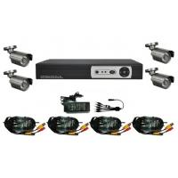 Quality 4CH Digital Video Recorder Kits CCTV Security System wholesale