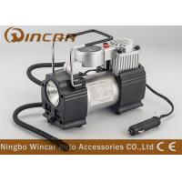 Quality Metal Hand Held Air Compressor Tyre Inflator Air Pump with Light / Digital Gauge wholesale