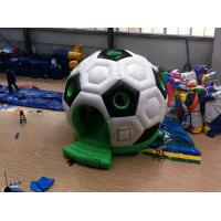 Quality High Density Small Soccer Inflatable Jumping Castle for Fun Games wholesale