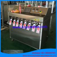 Quality Shaped Bag Packing Machine / Vertical Liquid Fruit Jelly Filling Sealing Packaging Equipment wholesale