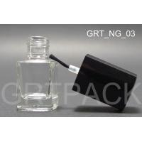 Quality Glass Empty Fingernail Polish Bottles with Plastics Caps for Color Cosmetics Packaging wholesale