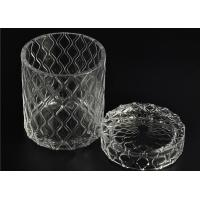 Quality Beautiful Straight Wall Glass Cylinder Candle Holders For Candle Making wholesale