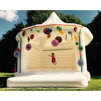 Quality Custom Made Carpa Hinchable Inflatable Party Tent White Bouncy Castle For Wedding wholesale