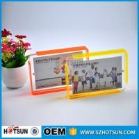 Quality Custom design 4*6cm Cute acrylic photo frame / cheap picture frames in bulk wholesale