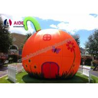 Quality Orange Gaint Inflatable Holiday Decor Birthday Party Rentals For Kids wholesale