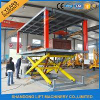 Quality Hydraulic Electric Type Portable Fixed In Ground Car Lift For Parking With CE wholesale