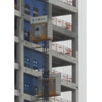 Quality Q345 Steel Material Rack And Pinion Lift , SC200BG Construction Rack Pinion Elevator wholesale