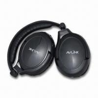 Quality Noise-canceling Headphones with Comfortable Wearing Wireless and Stereo Plug Adapter for Flight wholesale
