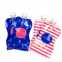 Buy cheap Reusable Baby Food Spout Pouch Packaging Laminated Material CMYK Color For from wholesalers