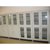 Quality Durable and Modern Two Glass Door Steel Chemical Storage Cabinet wholesale