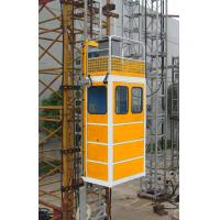 Quality Portable Construction Material Hoists / Passenger Hoist Green Yellow Or Customized wholesale