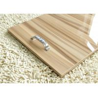 Quality Wood Grain 18mm Gray Plain MDF Melamine Board Sheets For Interior Decoration wholesale