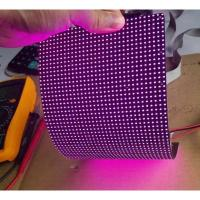 China IP45 P4mm RGB flexible led video screen , flexible wall panels Cree Chip on sale