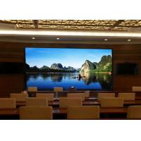 Indoor Pitch 4mm Led Display , SMD 2121 Full Color Led Electronic Board Wall