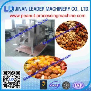 Quality Stainless steel gas heating gas baking peanut roasting roaster machine wholesale