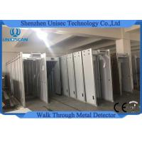 Quality IP31 Walk Through Metal Detector 6 Zones Security Gate With LED Screen wholesale