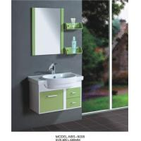 Quality hanging  cabinet / PVC bathroom vanity / wall cabinet / red color for house 80 X49/cm wholesale