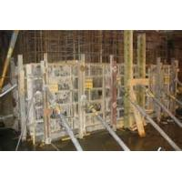 Quality good rigidity  concrete shearing force wall formwork system electrophoretic paintfshuttering wholesale