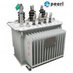 Quality Anti - Lightning Impulse Oil Immersed Transformer 11 KV - 500 KVA Economic wholesale
