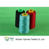 Cheap High Strength 5000M 40/2 100% Dyed Sewing Spun Polyester Thread for sale