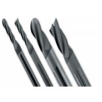 Quality Solid Straight Carbide Ball Nose End Mill Cutter CNC Machines Cutting Usage wholesale