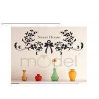 Quality Black Removable Baby Nursery Wall Stickers For Kindergarten Decor wholesale