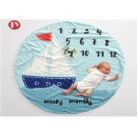 China Baby Milestone Blanket with Month Growth Tracker for Girls and Boys |Ultra Soft and Warm Comfort on sale