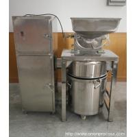 China Stainless Steel Onion Powder Grinder with Dust Collector on sale