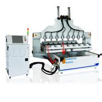 China High Precision Multi - Head CNC Router Electronic Engraving Machine Ball Screw Transmission on sale