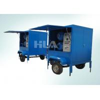Quality Fully Automatic Vacuum Transformer Mobile Oil Purifier For Outdoor Work wholesale