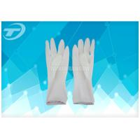 Cheap Latex Surgical Gloves Powder Free Sterilized By Gamma Radiation for sale
