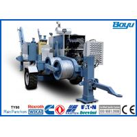 China 60kN 6 Ton 220kv Overhead Transmission Line Stringing Equipment with Cummins Diesel Engine on sale