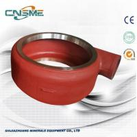 Buy cheap High Chrome A05 Slurry Pump Parts 6 Inch Slurry Pump Volute Liners from wholesalers