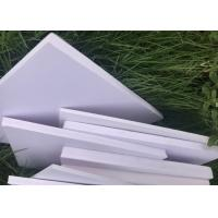 Quality Advertising Display PVC Decorative Sheet White Color 3mm Thickness 1.2m * 2.4m wholesale